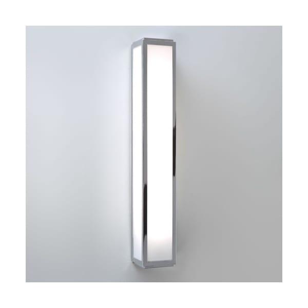 Contemporary Bathroom Strip Light In Polished Chrome Class 2