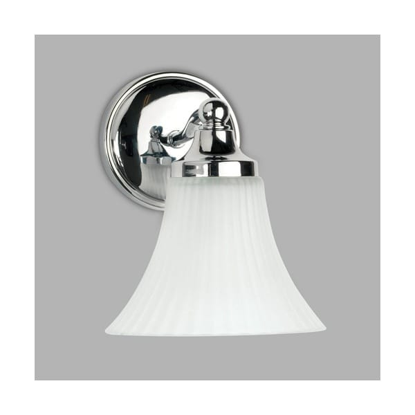 Decorative Wall Lights For Bathroom : Traditional decorative bathroom wall light in chrome with