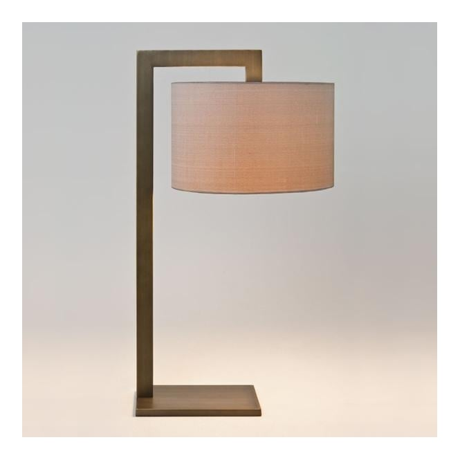 Astro RAVELLO contemporary table lamp with shade (bronze)
