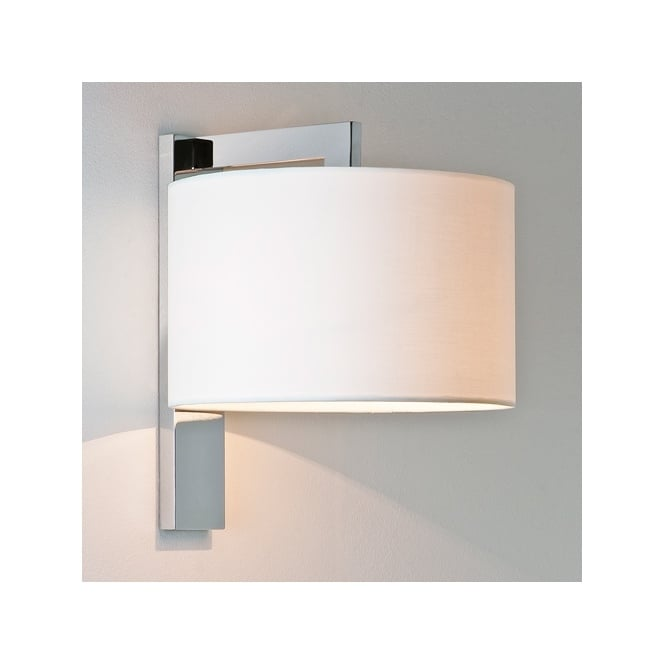 Astro RAVELLO contemporary wall light with shade (chrome)