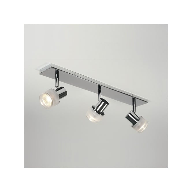 Astro TOKAI chrome bathroom spotlight bar (3 light)