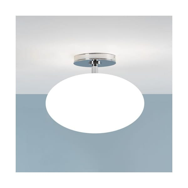 Contemporary bathroom ceiling light ip44 rated double for Contemporary bathroom ceiling lights
