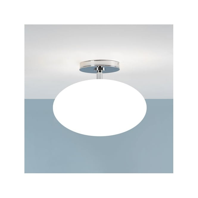 Contemporary Bathroom Ceiling Light Ip44 Rated Double Insulated