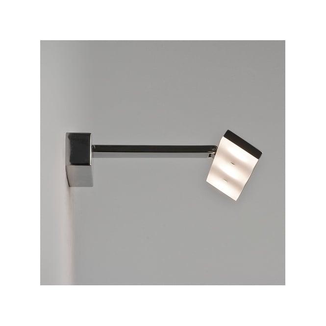 Chrome LED Over Mirror Bathroom Wall Light - Double Insulated, IP44