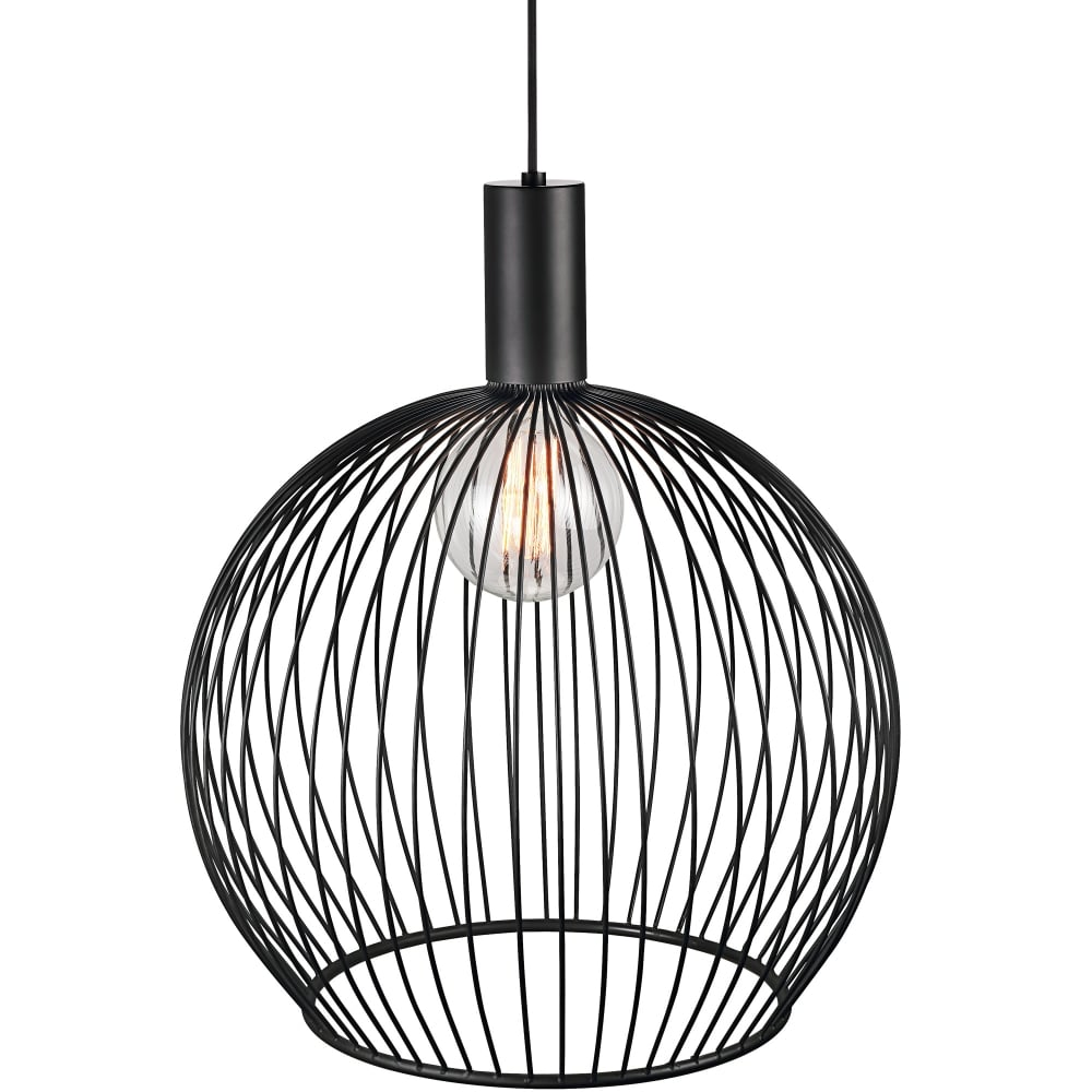 Modern large wire frame globe pendant in black modern black wire frame globe pendant light keyboard keysfo Gallery