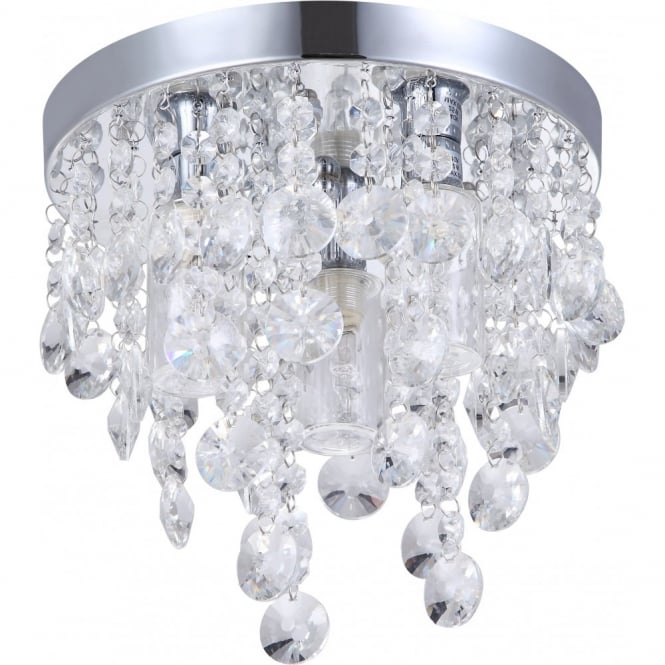 Decorative Bathroom Ceiling Lights : Decorative contemporary bathroom ceiling light with glass