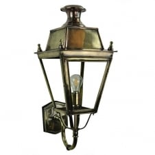 BALMORAL Victorian exterior brass and copper lantern