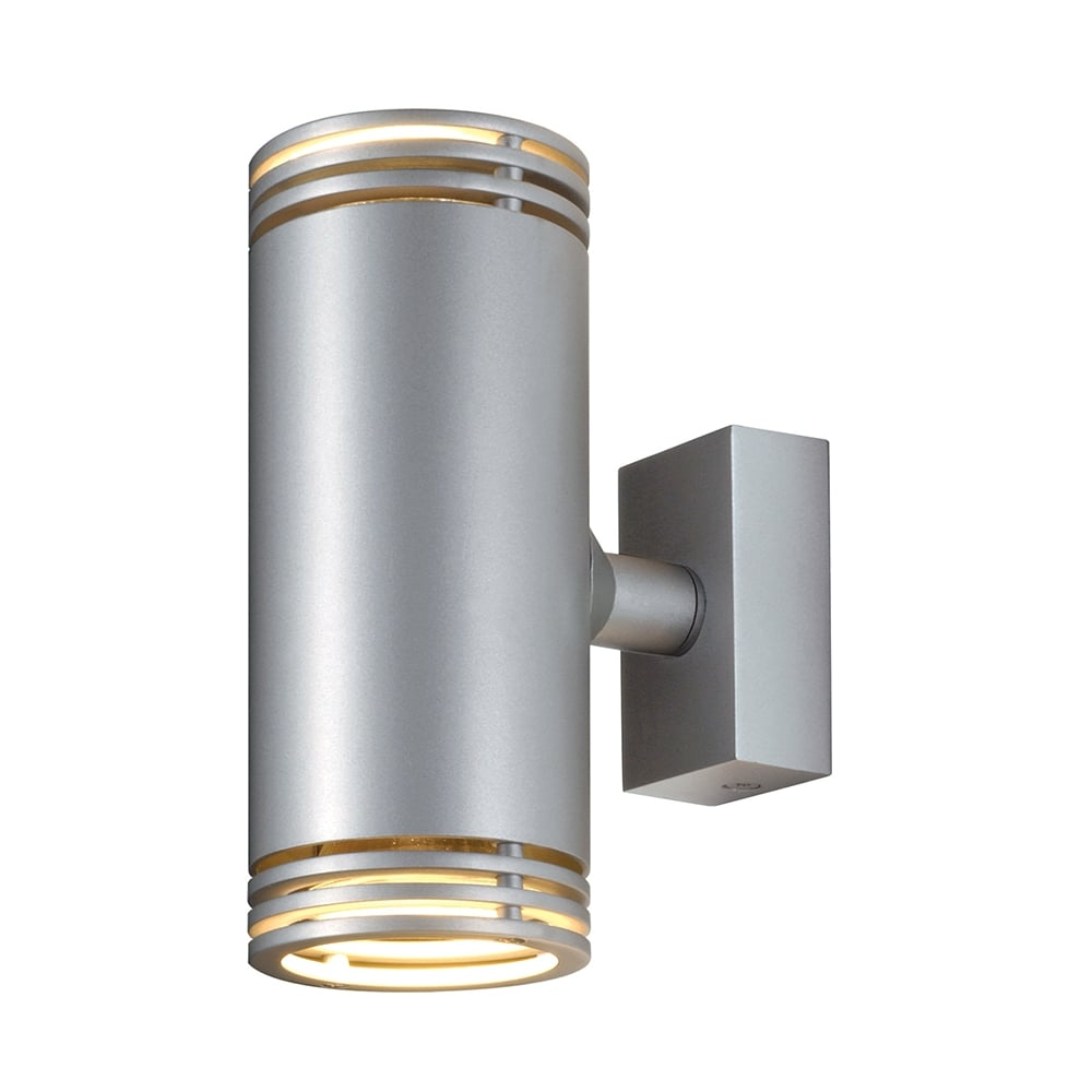 Double tube shaped wall spotlight in aluminium barro tube shaped double wall spotlight aloadofball Image collections