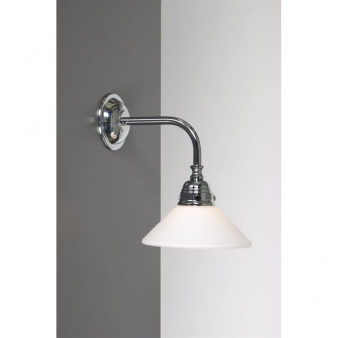 Ip44 traditional victorian or edwardian period bathroom wall light bath classic traditional bathroom wall light chrome aloadofball Images