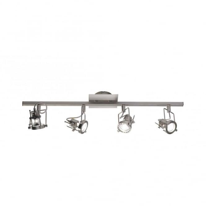 Kitchen spotlight bar with 4 adjustable spotlights theatre style bauhaus spotlight bar with 4 spots aloadofball Images
