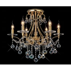 Crystal chandelier suitable for low ceilings bianco gold plated asfour crystal chandelier for low ceilings aloadofball