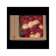 LIGHT STRING chelsea rose lovers bouquet (20 lights)