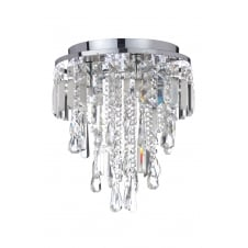 Traditional bathroom lights for lighting period bathrooms all ip44 flush fit bathroom chandelier in chrome and crystal aloadofball Gallery