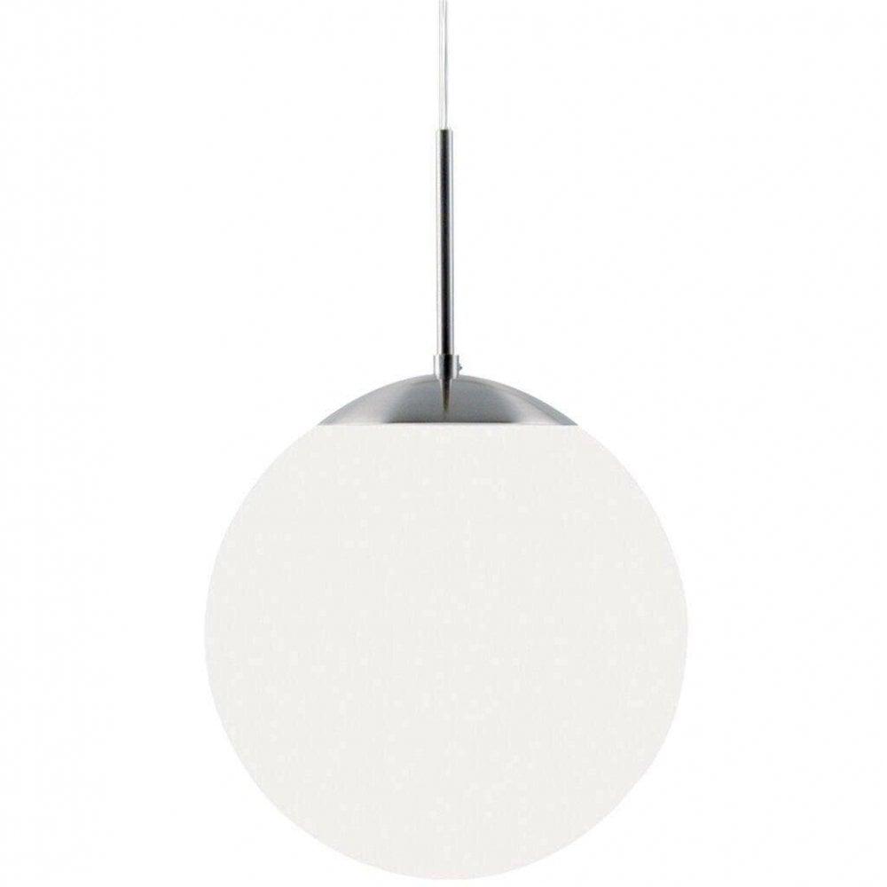 Cafe Large Opal Glass Globe Ceiling Pendant Light