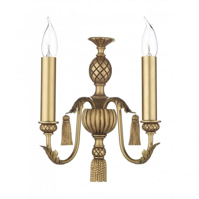 CLASSIC antique gold wall light