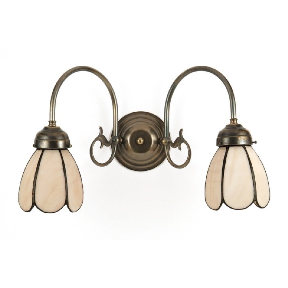 Traditional victorian or edwardian double wall light for Classic home lighting