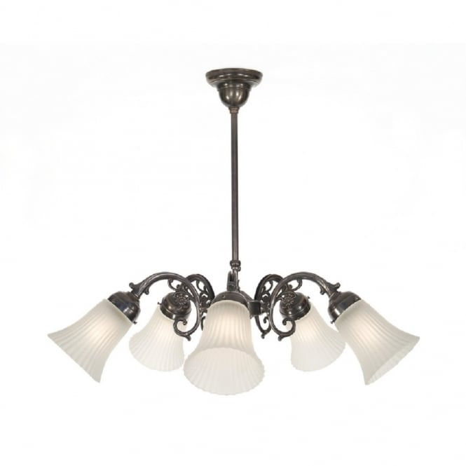 Classic British Lighting VICTORIAN 5 light ceiling pendant