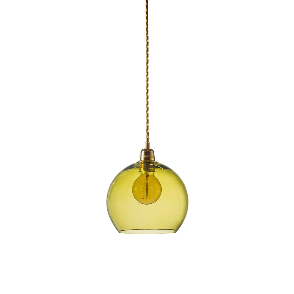 Rowan small transparent olive green glass ceiling pendant light rowan small transparent olive green glass ceiling pendant light mozeypictures Image collections