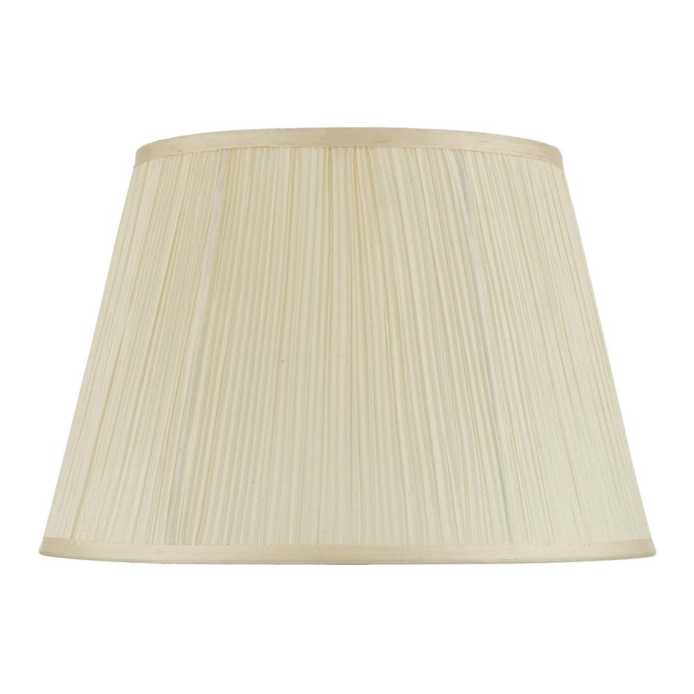 Cream Cotton Tapered Drum Pleated Lamp, Pleated Lamp Shades For Table Lamps Uk