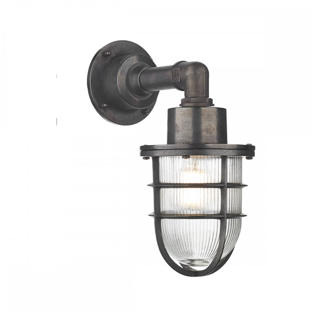 nautical outdoor wall lights marine nautical industrial style outdoor wall light in oxidised finish crewe nautical industrial style outdoor wall light oxidised finish