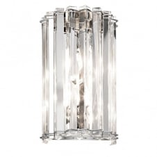 decorative crystal wall light