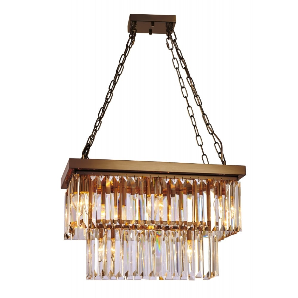 lighting shade image chandelier frame tired company crystal with pendant light glass crystalline antique bronze and