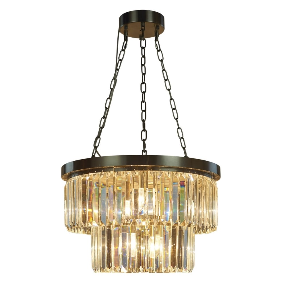 chandelier free product brushed overstock crystal garden orb shipping home today nickel light pendant