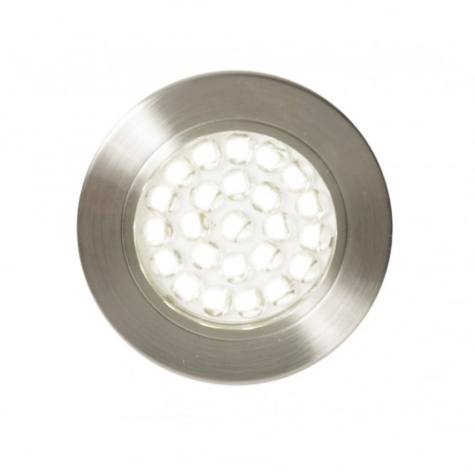 POZZA LED circular recessed cabinet light  sc 1 st  The Lighting Company & Contemporary Stainless Steel LED Recessed Down Light