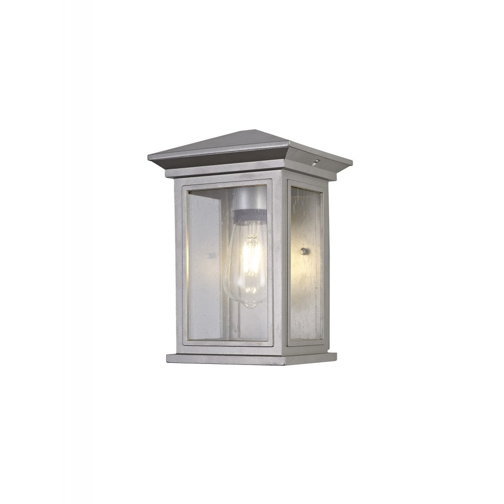 Exterior Vintage Style Flush Wall Light Silver Grey Lighting Company Uk