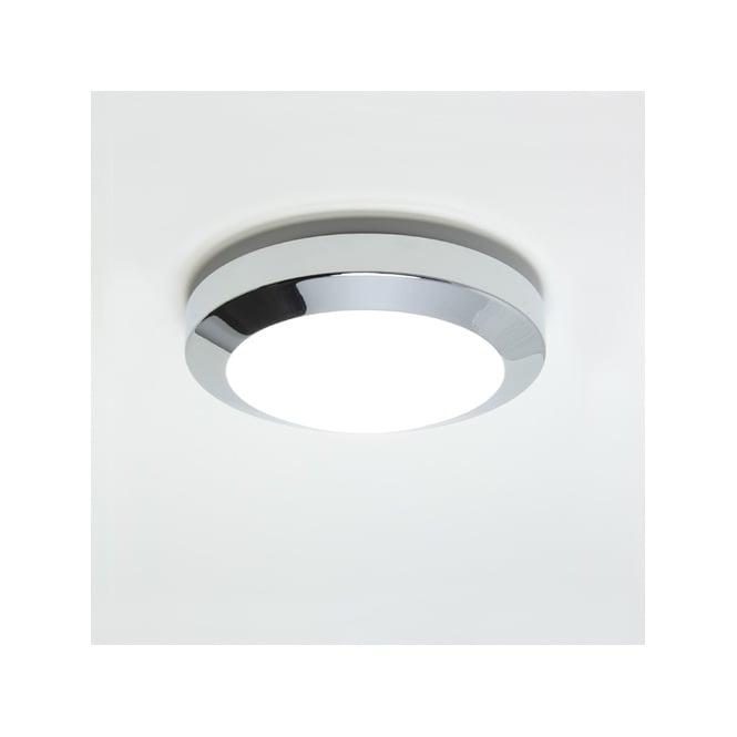 Modern chrome bathroom light can be mounted to ceiling or wall ip44 dakota 180 polished chrome flush bathroom ceilingwall light aloadofball Image collections