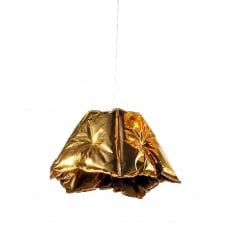 modern gold PVC easy fit pendant shade