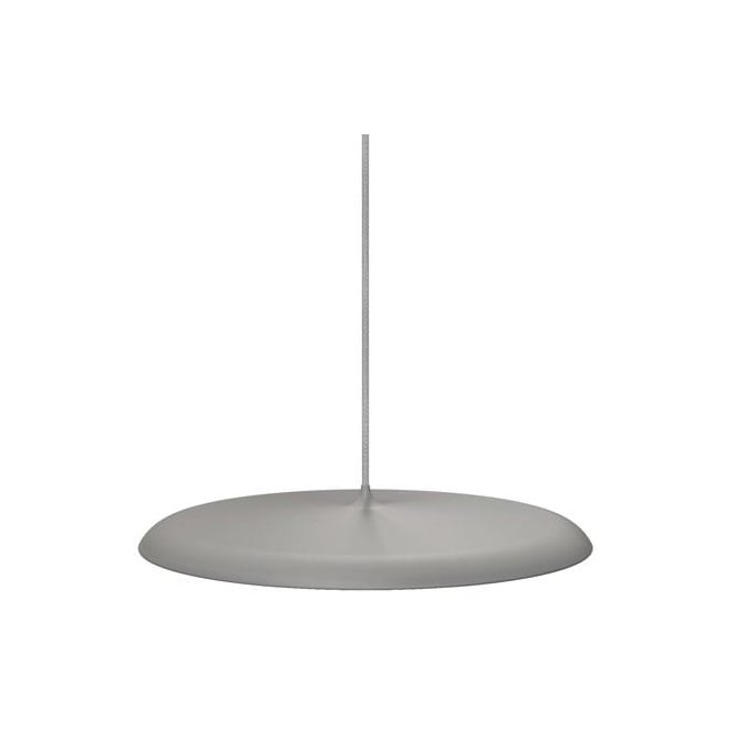 Design For The People ARTIST 40 modern LED ceiling pendant in grey finish