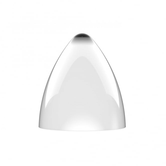FUNK large gloss white pendant light shade (part of a set)