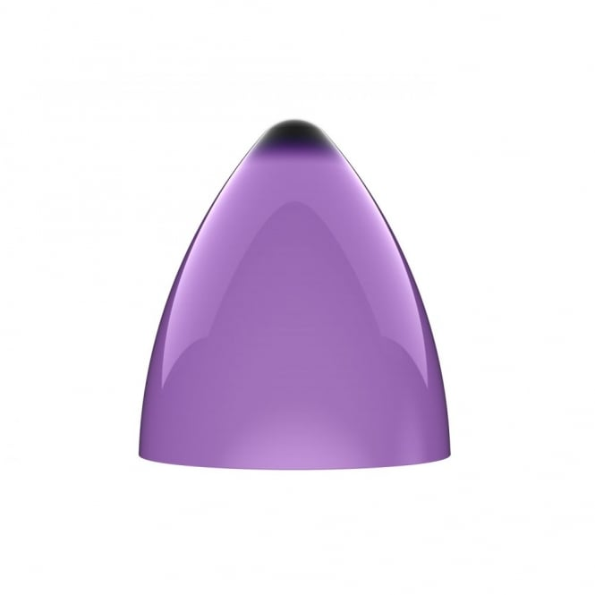 FUNK large purple penant light shade (part of a set)