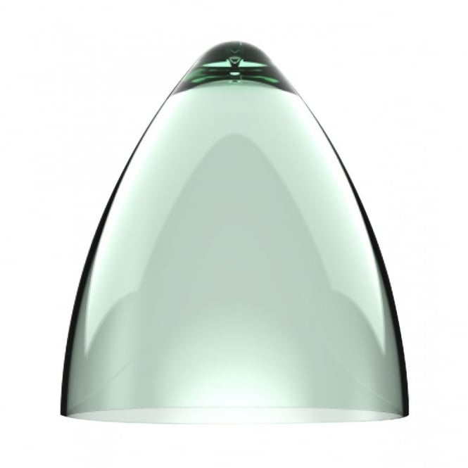 Design For The People FUNK transparent green large pendant light shade (part of a set)