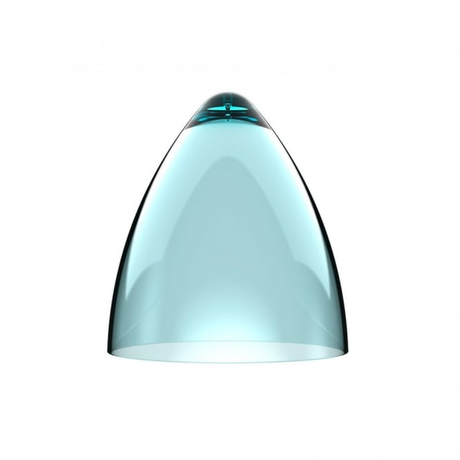 Design For The People FUNK turquoise pendant light shade (part of a set)
