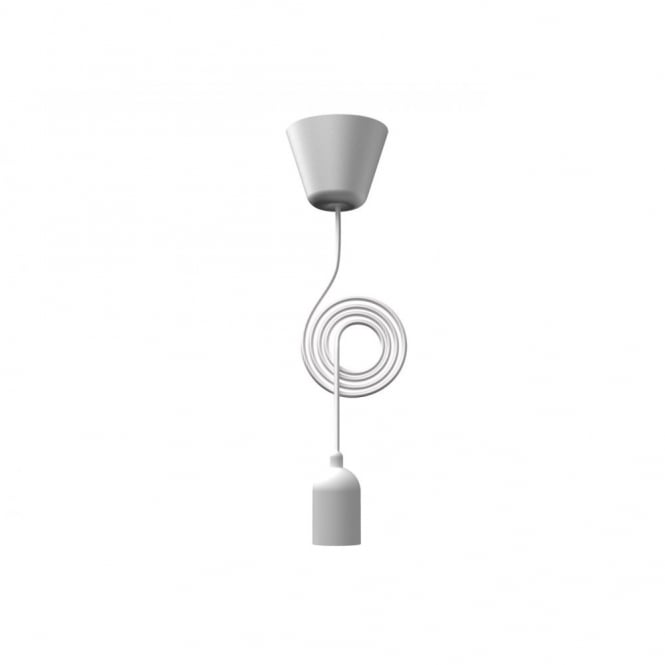 Design For The People FUNK white pendant light set & cord