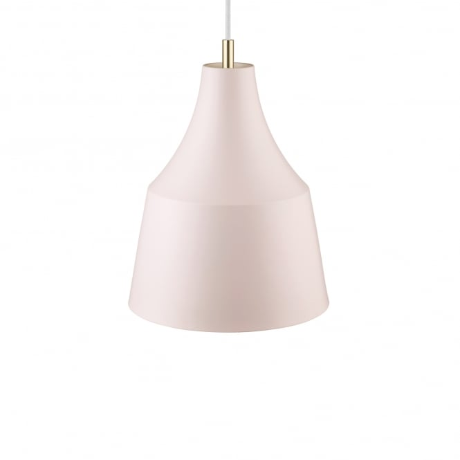 GRACE 25 contemporary pendant in rosa pink finish