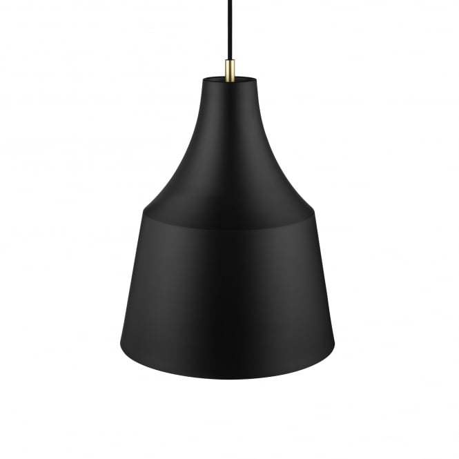 Design For The People GRACE 32 contemporary pendant in black finish