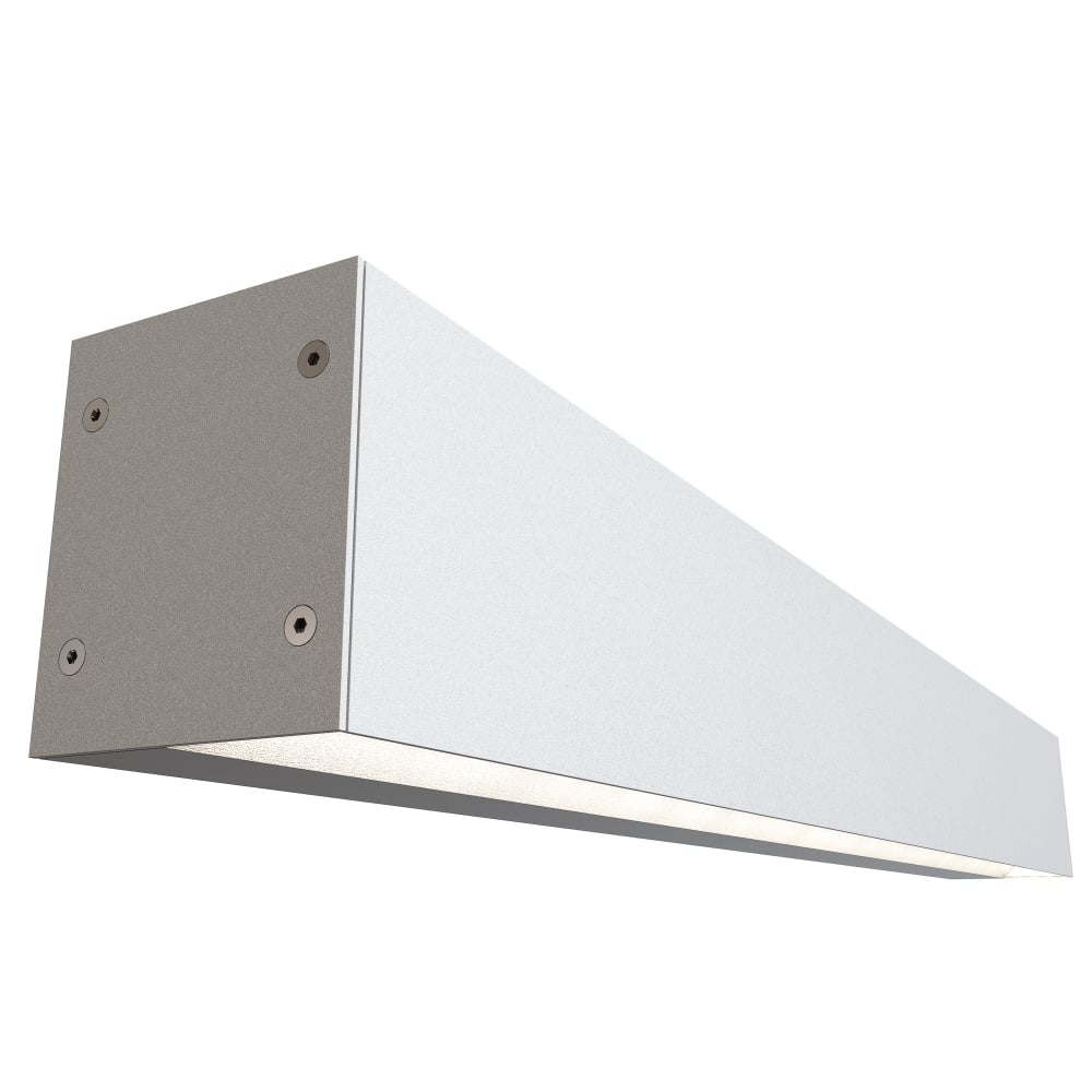 Contemporary White Led Rectangular Wall Washer Light