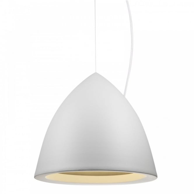 Design For The People MYSTIC 33 contemporary white ceiling pendant (large)