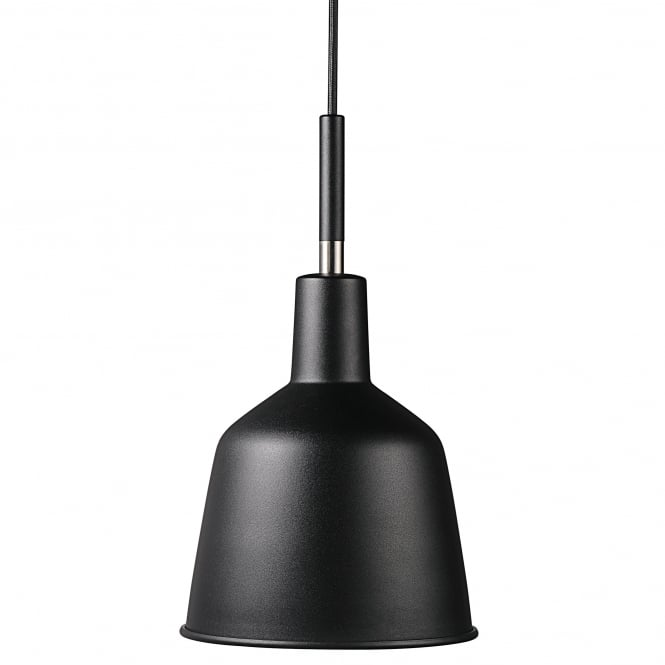 Design For The People PATTON black workshop style ceiling pendant