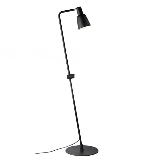 PATTON modern functional style floor lamp in black