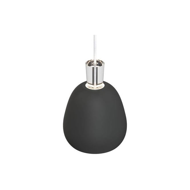 SHAPE-2 matt black modern ceiling pendant