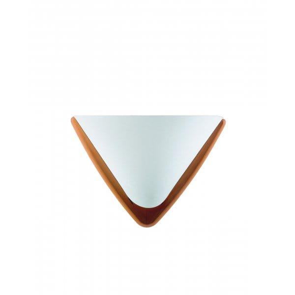 Contemporary Design Wooden & Opal Glass Wall Light