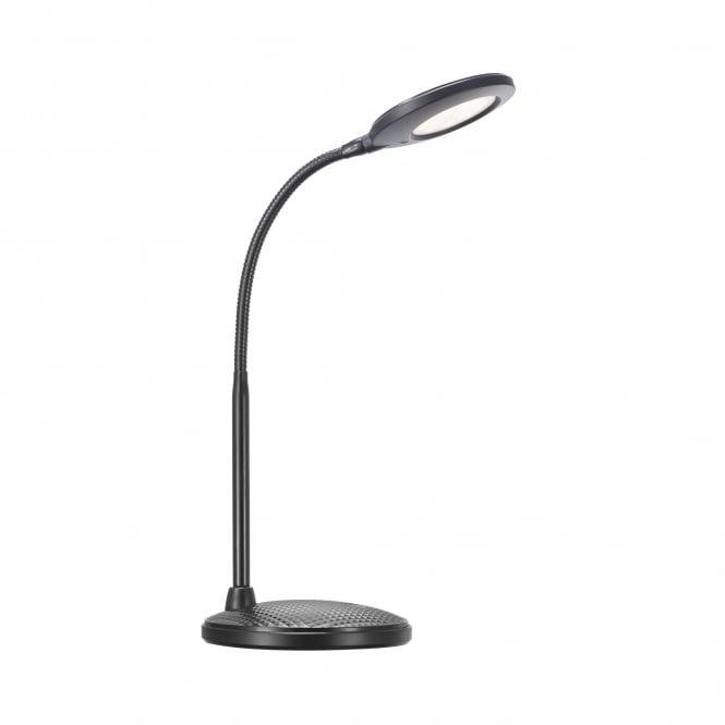 DOVE modern LED table lamp in black