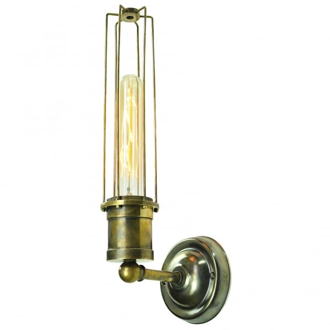 Alexander Wall Antique Brass C/W LB1 Bulbs