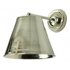 Map Room Wall Polished Nickel C/W LB4 Bulbs