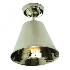 Map RoomFlush Polished Nickel C/W LB4 Bulbs
