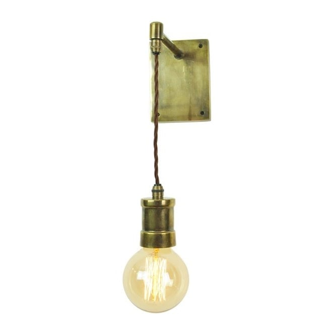 Wall mounted pendant light fitting contract hospitality lights brass wall hanging light unique pendant light for walls aloadofball Choice Image
